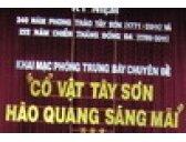Cổ vật Tây Sơn – Hào quang sáng mãi (10/2/2011)